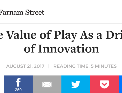 The Value of Play As a Driver of Innovation