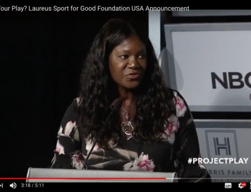 What's Your Play? Laureus Sport for Good Foundation USA Announcement