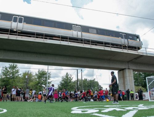 Why Soccer Fields Are Sprouting Up at Atlanta's Transit Stations